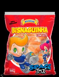 BISNAGUINHA COM LEITE